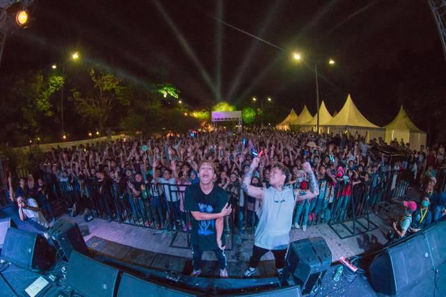 BACK-ON、初のインドネシアで2000人が熱狂