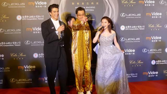 「アジア太平洋映画祭」にピコ太郎がプレゼンターとして出演!そして日本からBeverlyやFAKYなどアジアで活躍する新人アーティストもライブを披露!