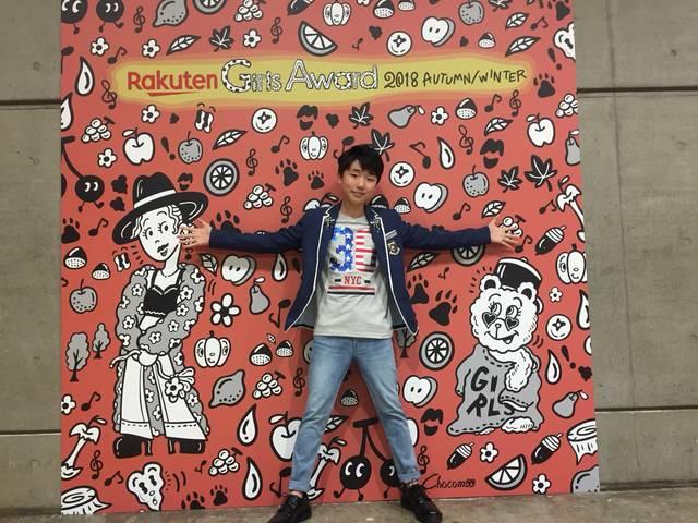 ガールズアワードに歌うま天才少年 石橋陽彩が初登場 「と~っても緊張した」