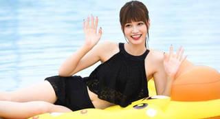 名古屋一かわいい女子高生「めるる」 水泳大会での天然炸裂?