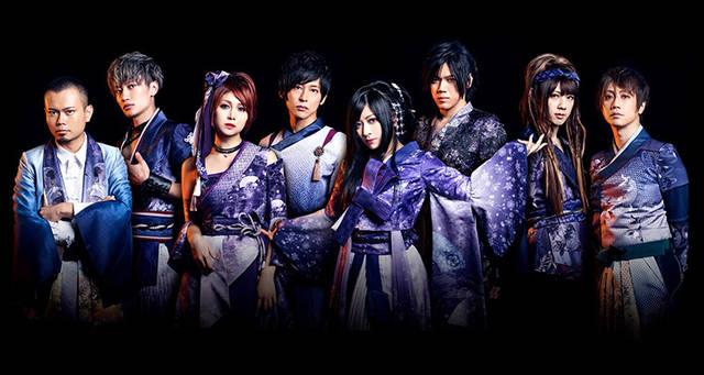 和楽器バンド、最新ビジュアル公開! 衣装デザインを手掛けたのは、あのオサレカンパニー茅野しのぶ氏!
