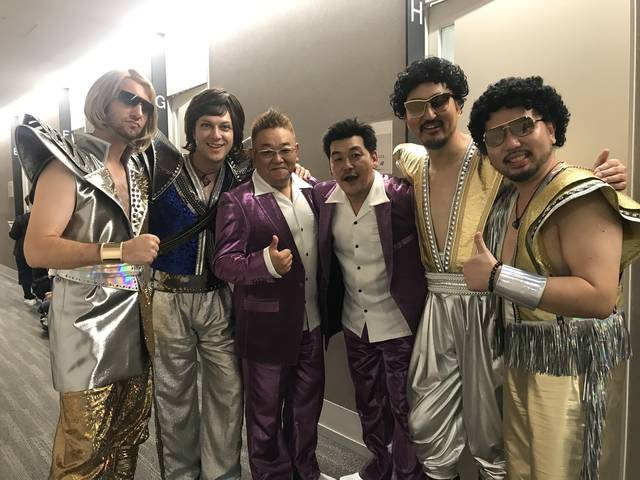 MOKNEY MAJIK×サンドウィッチマンがテレビ朝日「ミュージックステーション」に出演!! コラボ曲「ウマーベラス」を熱唱!!
