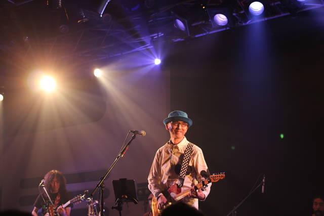 斎藤誠、超豪華メンバーとデビュー35周年ライブ!