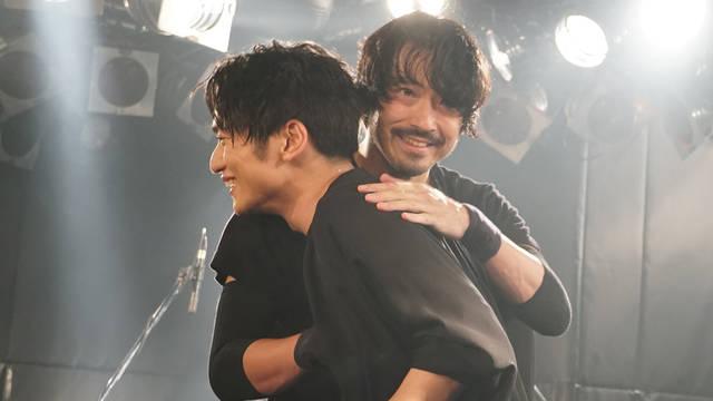 SKY-HI & 金子ノブアキ 圧倒的共演!! SKY-HIライブハウスツアー「Round A Ground 2018」地方ファイナルに金子ノブアキがサプライズ出演!!
