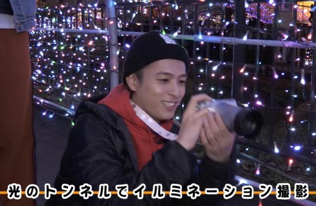 光の中でDa-iCE工藤大輝、和田颯ら写真部が撮影を満喫!