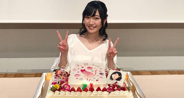 前島亜美が21歳のバースデーイベントを開催。約1000人のファンが詰めかけグッズも即完売に。