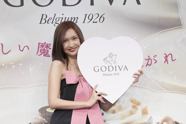紗栄子「GODIVA バレンタイン コレクション2019」プレス発表会で、バレンタインの思い出を告白!