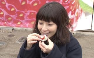 持田香織も衝撃の出会い!「いちご寿司」のお味は?