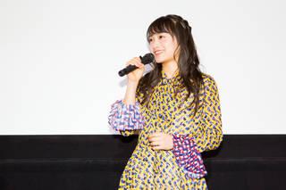 福田愛依が初主演映画の舞台挨拶に登場!「グイグイいきました!」