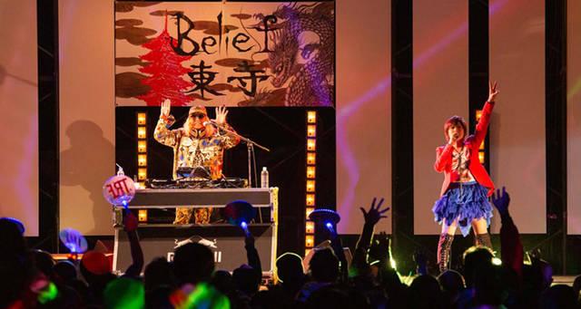 平成最後に!世界遺産、東寺でYU-KI&DJ KOO from TRFが初LIVE!!