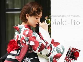 伊藤千晃 艶やかな浴衣姿に「隣、歩いていいですか?」