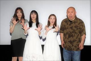 浅川梨奈 主演映画『黒い乙女Q』の舞台挨拶に登壇!「一週間で撮り終えたのにこのクオリティの高さが良い意味で一番のホラーでした(笑)」