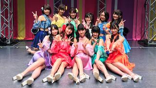 "SUPER☆GiRLS(スパガ)結成9周年超満員御礼!10年目に突入で""10大""発表!"