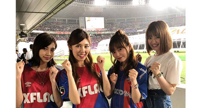 公開後1日で10万再生突破!橘ゆりか、alomの寺田真奈美、小室さやか、萩田帆風のサッカー女子の応援歌動画が話題