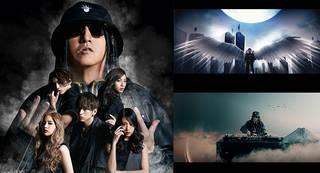 DJ KOO(翼あり!?)が2200倍に巨大化!?lol-エルオーエル-の最新Music Videoに現る!