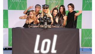 lol-エルオーエル-新メンバー加入後初となるパフォーマンスを披露!