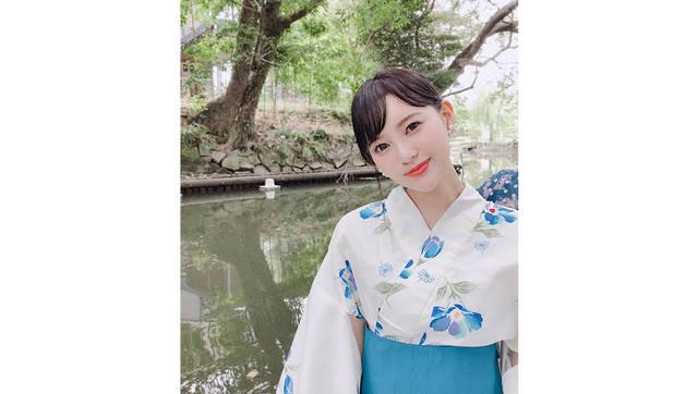元HKT48兒玉遥 今夏初浴衣に「可憐」