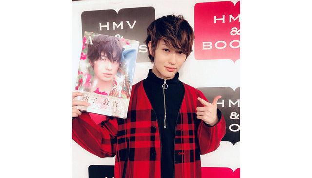 人気上昇中の俳優・増子敦貴が写真集発売イベントを実施。1st写真集『A』に収録された奇跡の一枚とは?