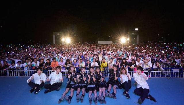 わーすた、3000人が集まった!代々木野外で渋公ホールワンマンを解禁!