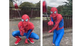 「完全にスパイダーマンだコレ!」CG加工一切無しのパフォーマンスに世界から大絶賛