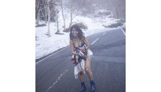 大原優乃セカンド写真が発売後、即重版!雪ではしゃぐ未公開カットも解禁