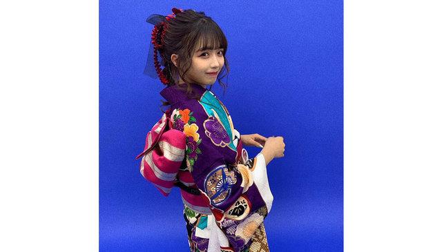 【天使すぎる小悪魔】Kirariが艶やかな振袖姿を公開!『振袖似合いすぎてる!存在がもう尊い』