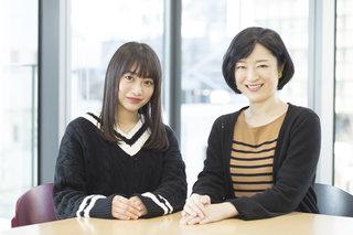 『初舞台 福田愛依×ベテラン女優 しゅはまはるみ』対談。「毎日進化していくのが楽しい」
