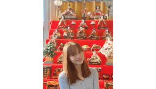 サクラ・キルシュ ひな祭りに実家の超本格的な雛人形を披露