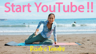 田辺莉咲子が待望のYouTubeチャンネルを開設!