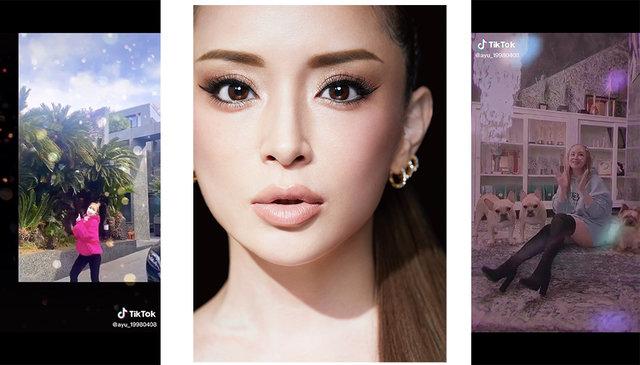 浜崎あゆみ、本日デビュー22周年を記念し、TikTokオフィシャルチャンネルを開設!人気曲「MY ALL」の中国語ヴァージョンも初公開!