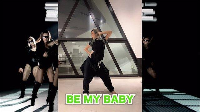 倖田來未 自宅でできるエクササイズ「BE MY BABY」の振り付けHOW TO動画を公開!