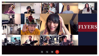 SKY-HI 「スッキリ」での自宅歌唱が話題となった楽曲の完成ver.、「#Homesession with THE SUPER FLYERS」をYouTubeに公開!!