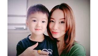 鈴木亜美が息子と一緒にピコ太郎の『Hoppin' Flappin'』を踊ってみた!ハードすぎるダンスに「結構疲れます」