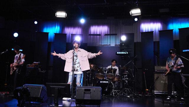 「人生初めてのワンマンライブ」 Da-iCE花村想太のバンドプロジェクト「Natural Lag」 オンラインライブツアー開幕!