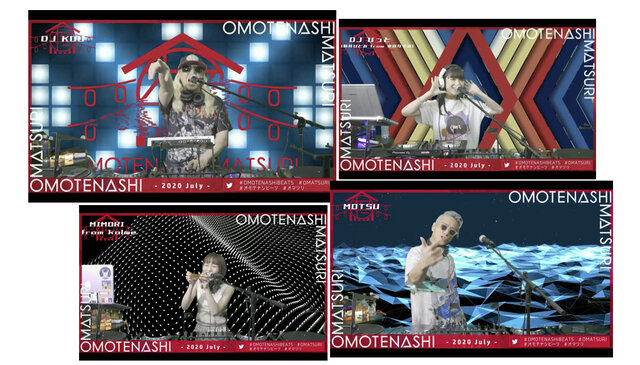 豪華DJ陣が出演!7月5日(日)開催のJAPAN CULTUREを世界へ発信するパーティーイベント「OMOTENASHI MATSURI- 2020 July -」をレポート!!