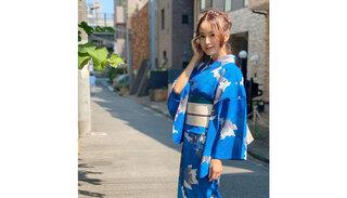 鈴木亜美、艶やかな浴衣姿に大反響!「涼やかで、華やかで素敵です。」