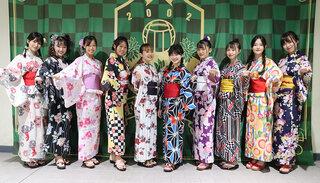 FC岐阜チアチーム「GGG」の浴衣姿が可愛すぎる!と話題に
