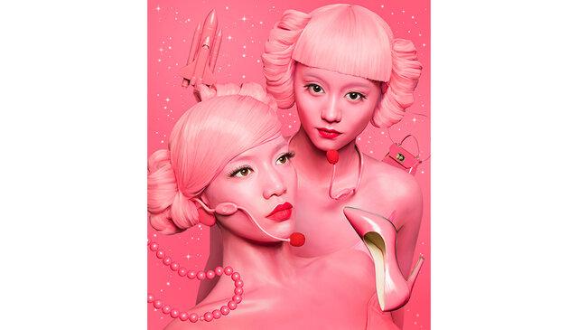 マネキン・ラップ・デュオ『FEMM』が『Duke of Harajuku』の1stアルバムにフィーチャリングで参加!