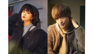 """Hina(FAKY)&増子敦貴(GENIC)のSPINNSアウタービジュアルがついに公開! """"エモさ"""" 漂う写真に大反響"""