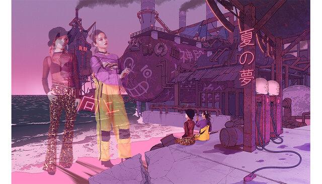 エクスマキナ(機械仕掛け)のラップ・デュオ『FEMM』が、ダークでエモーショナルな80'sリバイバル楽曲「Come & Go」を本日リリース