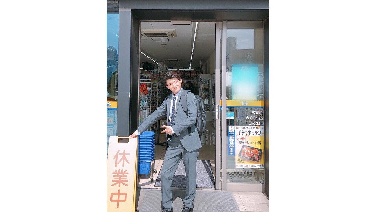 ジュノンボーイ・坪根悠仁が主人公を務めるミニストップTwitterドラマ第3話が公開! 恋の三角関係に大きな亀裂が…!