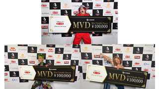 D.LEAGUE初代チャンピオン「avex ROYALBRATS」初代メンバーの3名(KAITA、Macoto、ASUPI)がMVDの賞金を全額寄付!