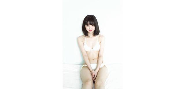 ドキっ!江野沢愛美も戸惑った!? 二度目の水着グラビアはプレイボーイでちょっと大胆に!