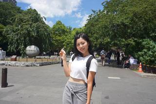 callme(コールミー)の早坂香美、歩いて・見て・ストレス消滅!?【美散歩】