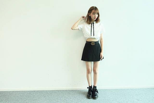 「ヒルナンデス」コーデ対決でセンスが話題の江野沢愛美にインタビュー!最近のコーデのポイントは?