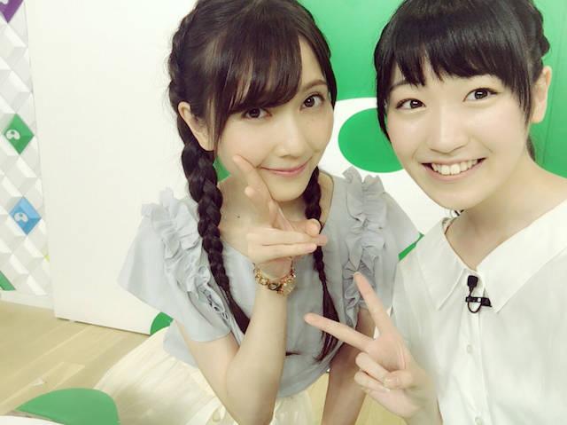前島亜美がスパガ卒業やアイドルから声優への道を秦佐和子に相談!? 番組オンエア中には女子力アップの相談も!?