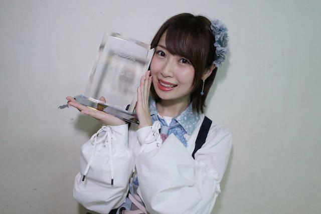 SKE48チームKIIの高柳明音 速報56位から15位へと大躍進!選抜メンバーに決定!!