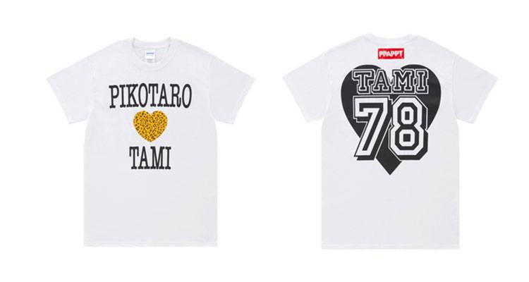 ■TAMIシャツ(KIDS) 価格:¥2,600(税込)(S/M/L/XL) 価格:¥3,100(税込)