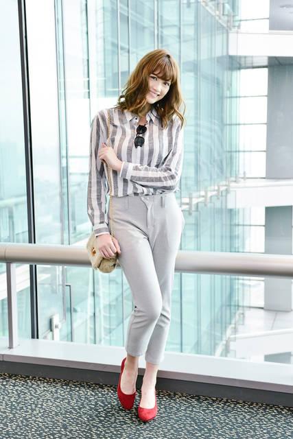 【FASHION撮りおろし】定番パンツ1枚で超着まわし!木津レイナのカジュアルモード3スタイル