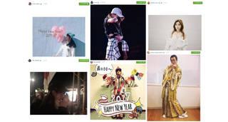 浜崎あゆみ、AAA 宇野実彩子、ピコ太郎、Da-iCE、高野洸、大原優乃、日比美思など【Instagramピックアップ10〜New Year Special〜】
